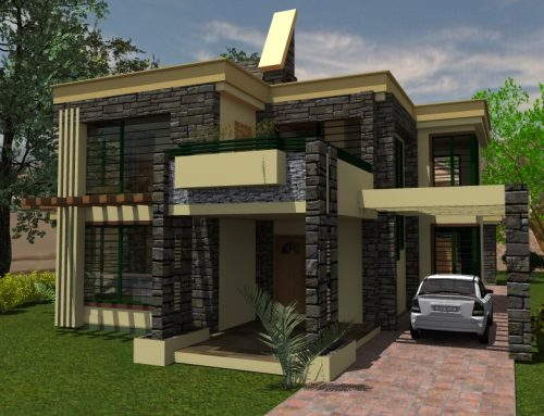 The Contemporary House Plan in Kenya