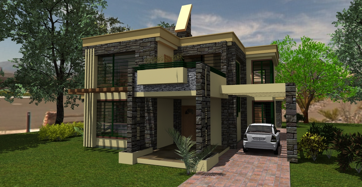 The contemporary house plan in kenya adroit architecture for Modern house plans and designs in kenya