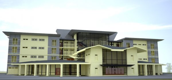 kenyan architect hospital design