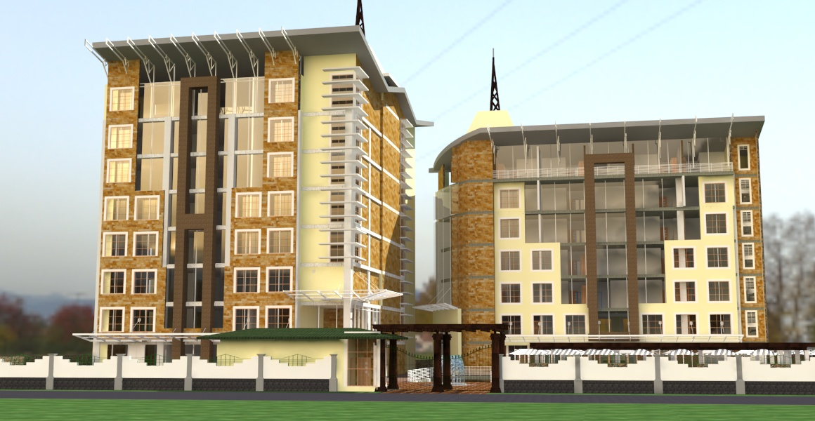 commercial design by kenyan architects