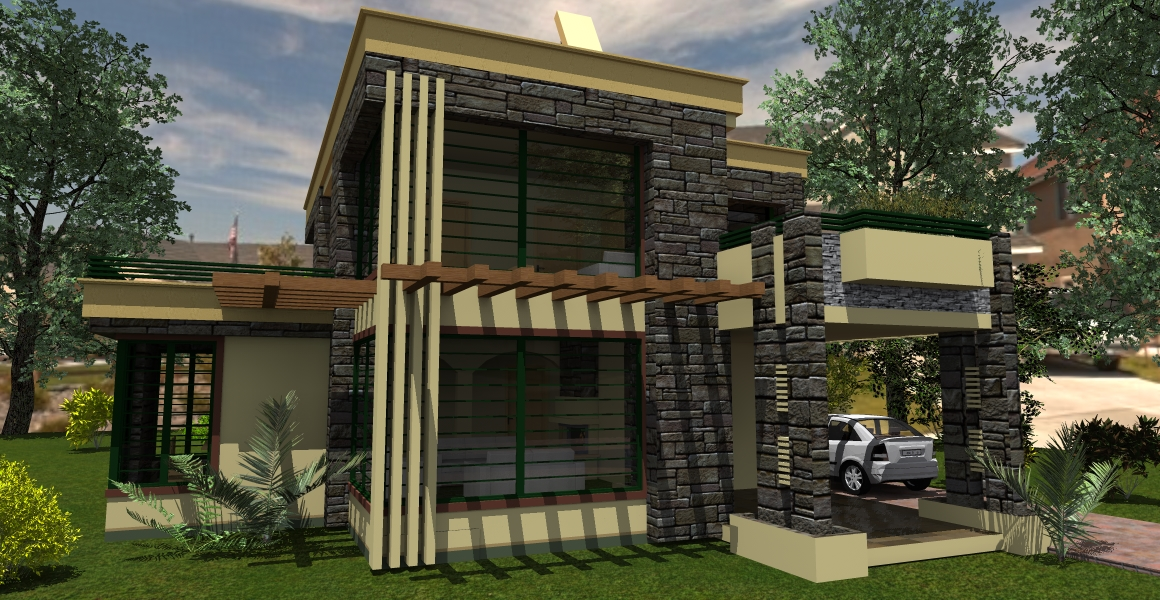 Contemporary House Plan 2 adroit architecture