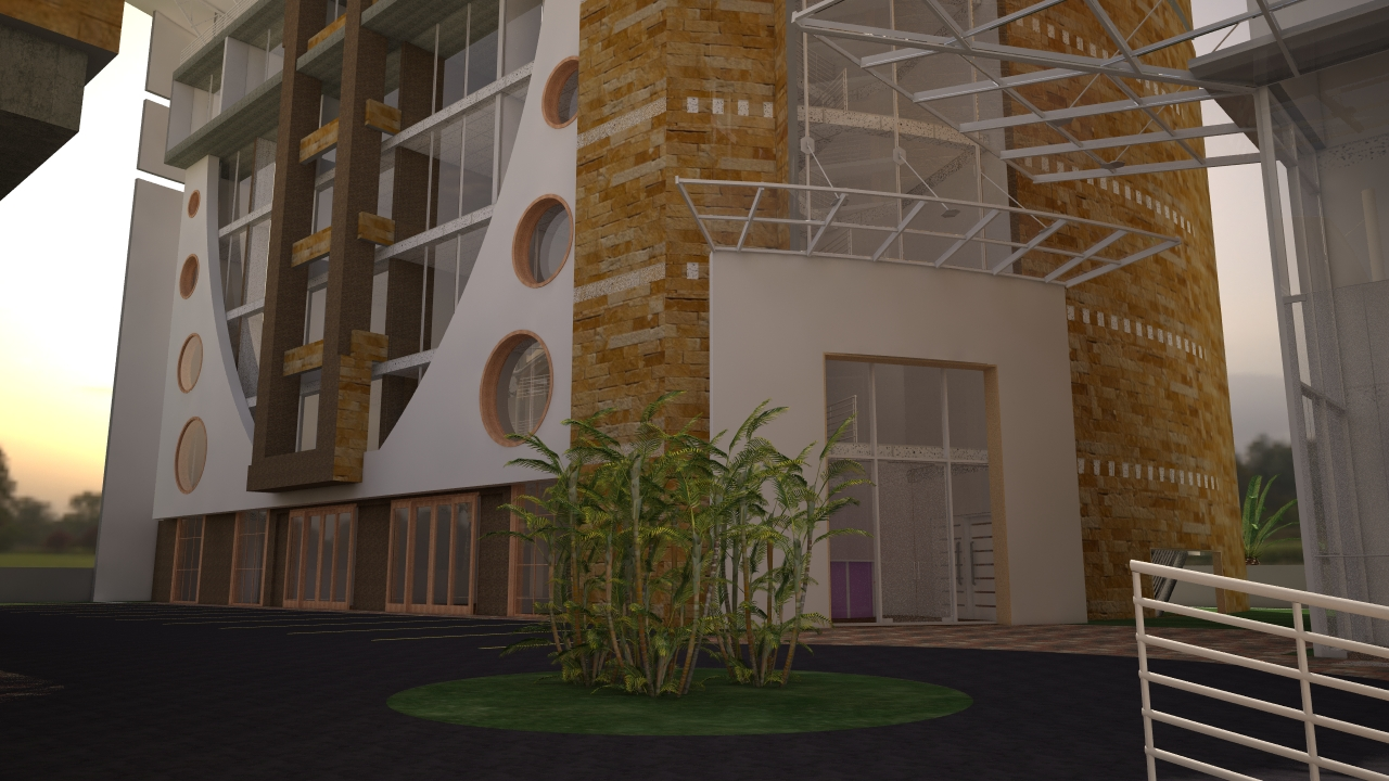 commercial buildings in Kenya by Kenyan architect