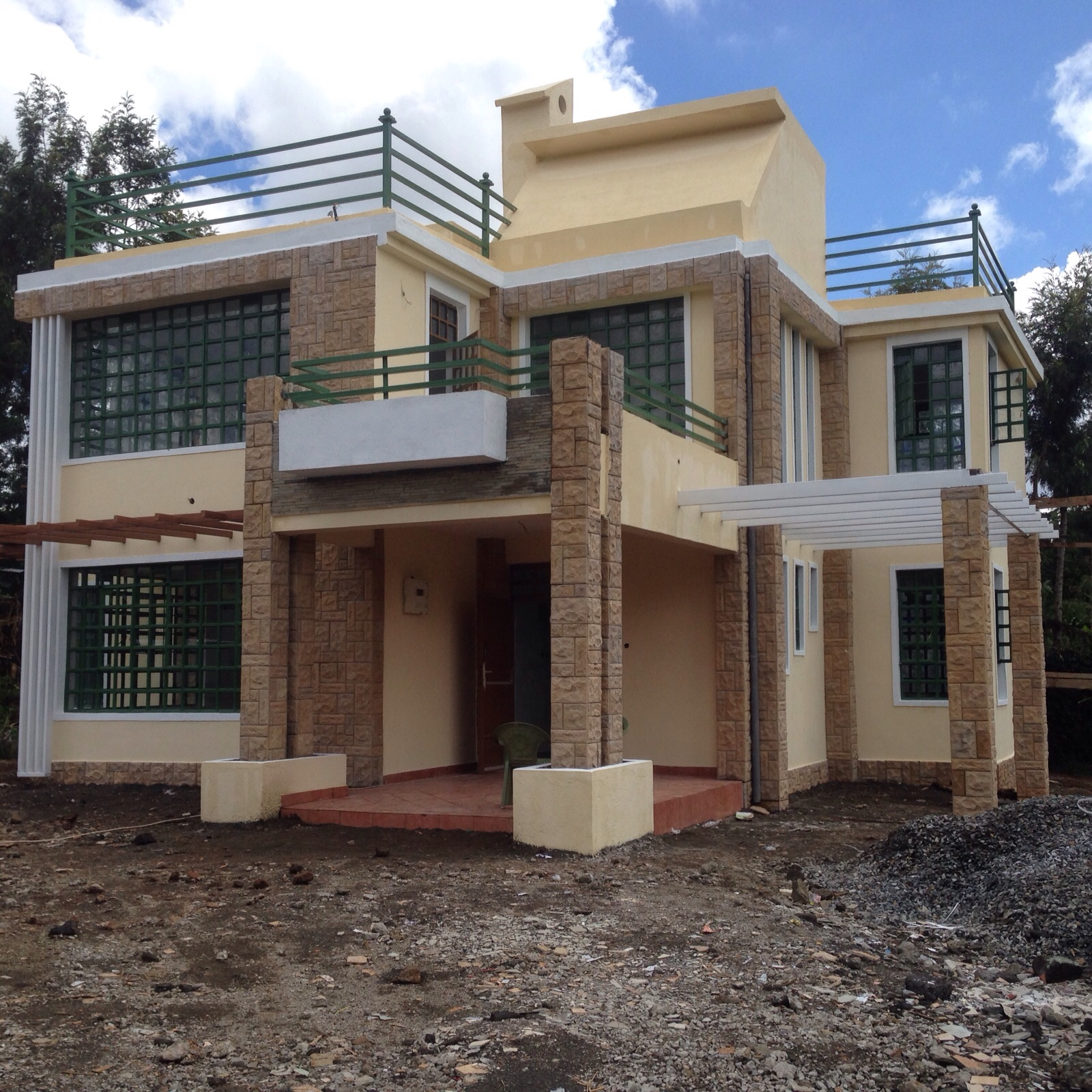 Four bedroom house plans in kenya for 4 bedroom maisonette house plans kenya