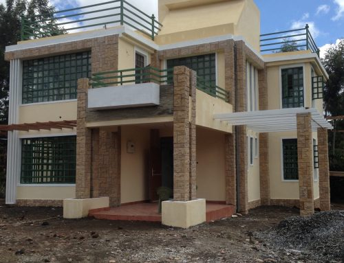 House Plans In Kenya The 4 Bedroom A Plan Complete Adroit