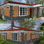 3 bedroom house plan in Kenya by Kenyan architect
