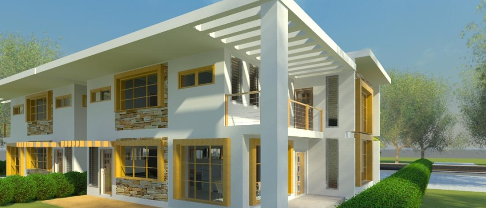 Shania Villas Phase 2 - Contemporary House Design
