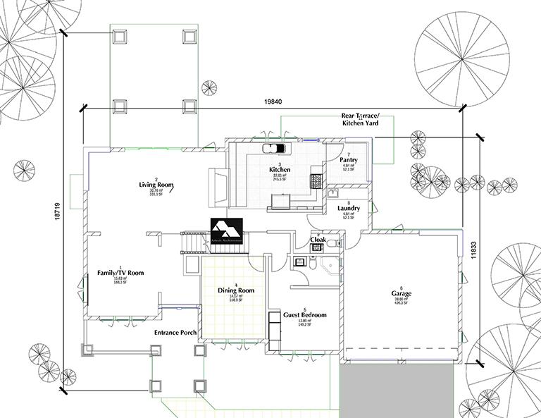 5 Bedroom Quarter Acre House Plan adroit architecture