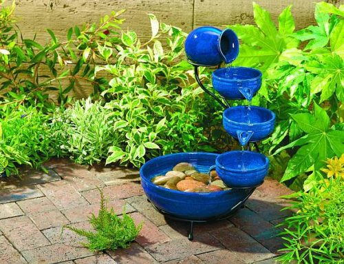 An Amazing Ceramic Pots Waterfall for your Exterior or Interior Design
