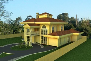 Residential House Plan by Kenyan Architect