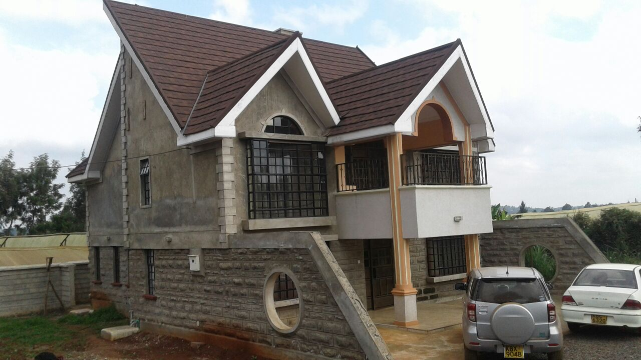 House Plans in Kenya - The 4 Bedroom A Plan Complete ...
