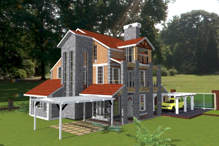 Kenyan Home Plans House Design Plans