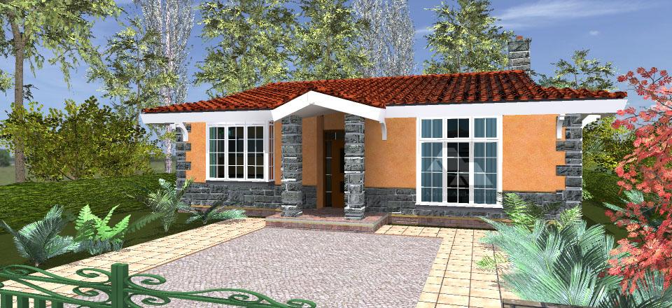 A Four Bedroom House Plan In Kenya Joy Studio Design