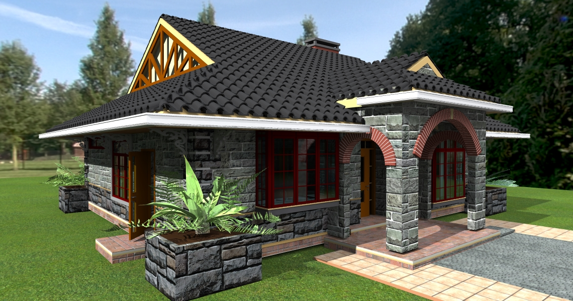 Three bedroom house plan in kenya