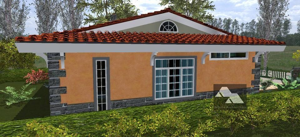 Three bedroom house plan in rural kenya joy studio for Three bedroom house plans in kenya