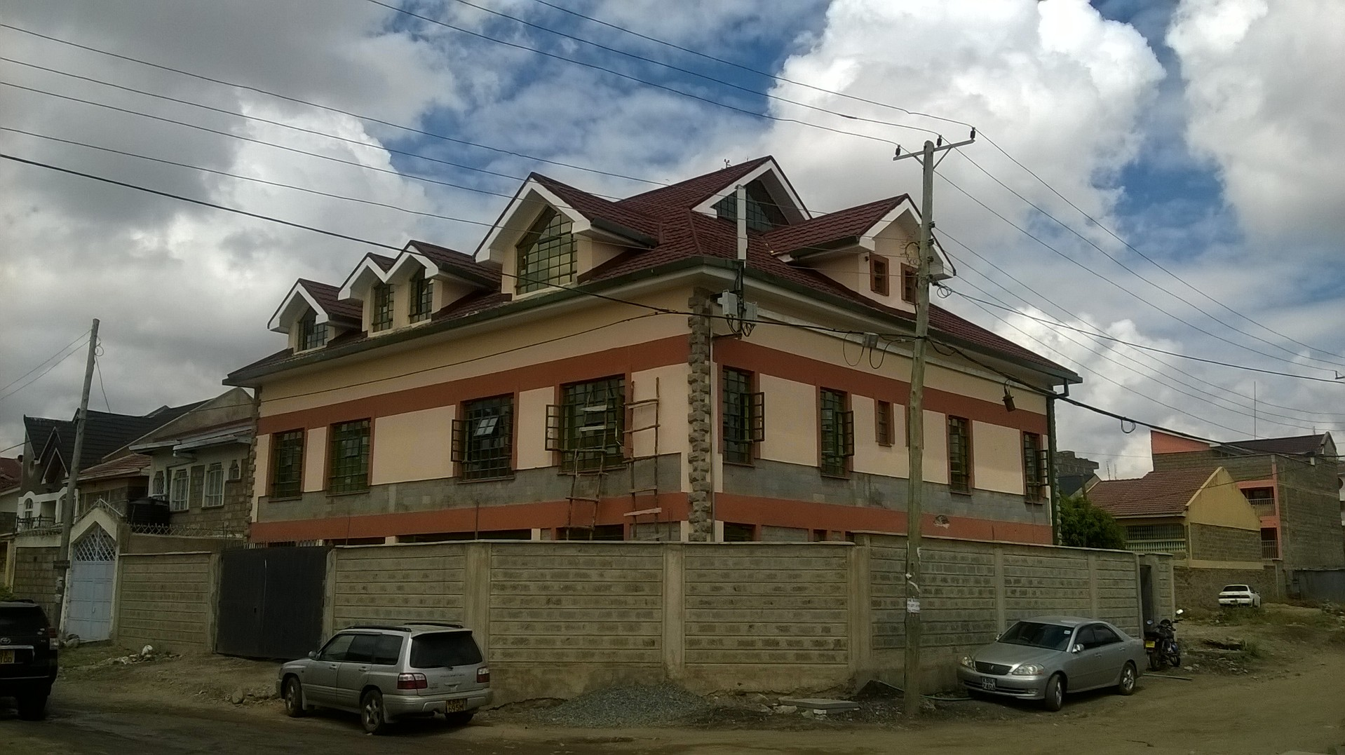 Construction in Kenya