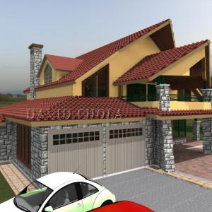 house plans in Kenya, kenani house design