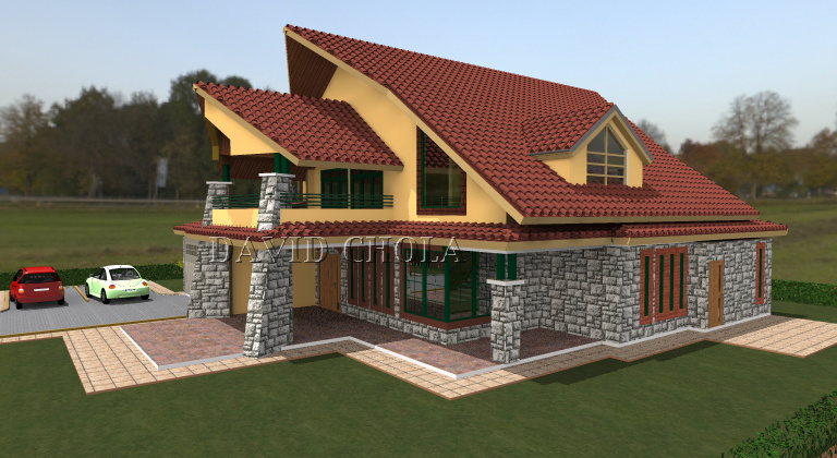 The Kenani House Plan, Beautiful Functional Housing