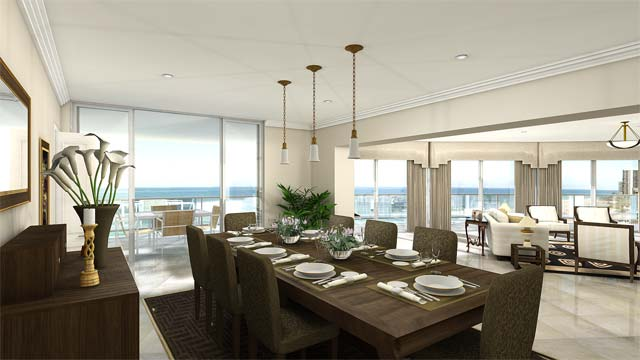dining interior design for house plans in Kenya
