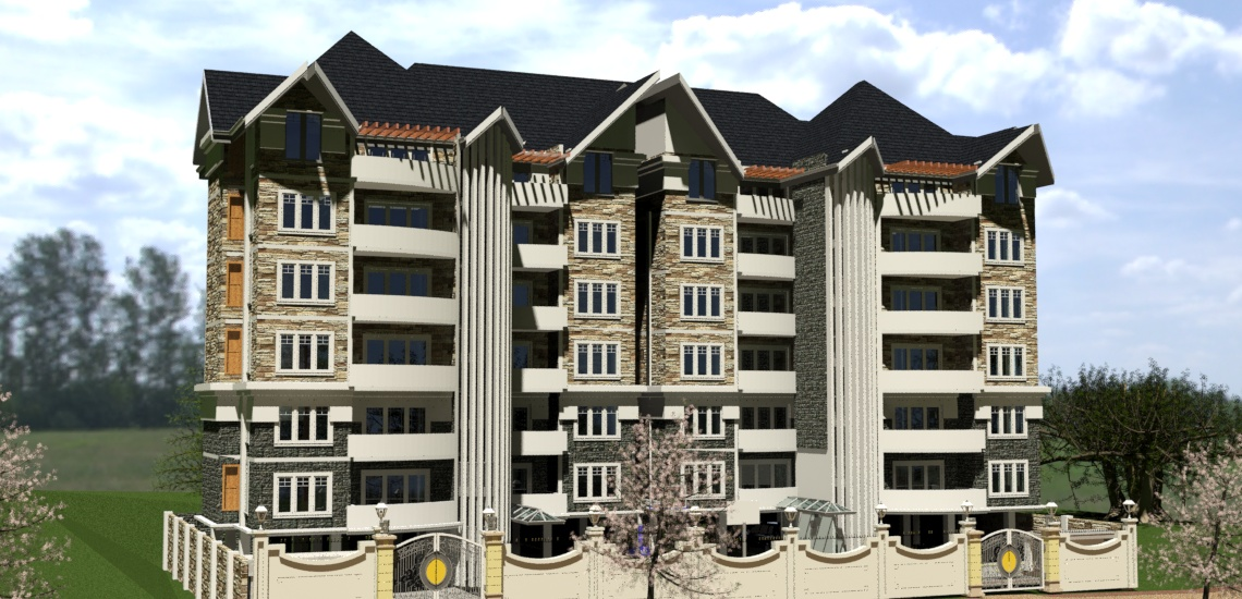 apartments by Kenyan architects firm