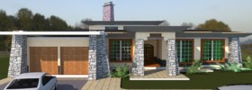 modern building design by Kenyan architect