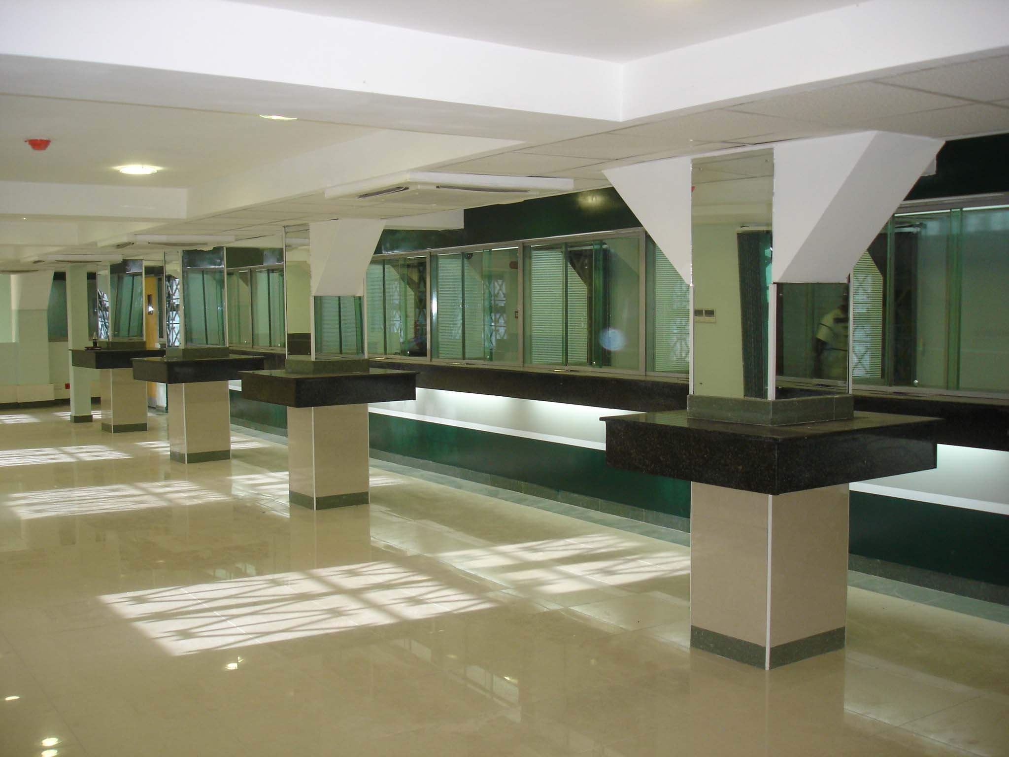 office design in kenya, banking hall