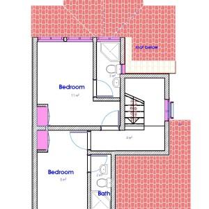 house plans in Kenya, narrow lot house plans,