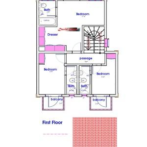 houses for sale in Kenya, narrow lot plan