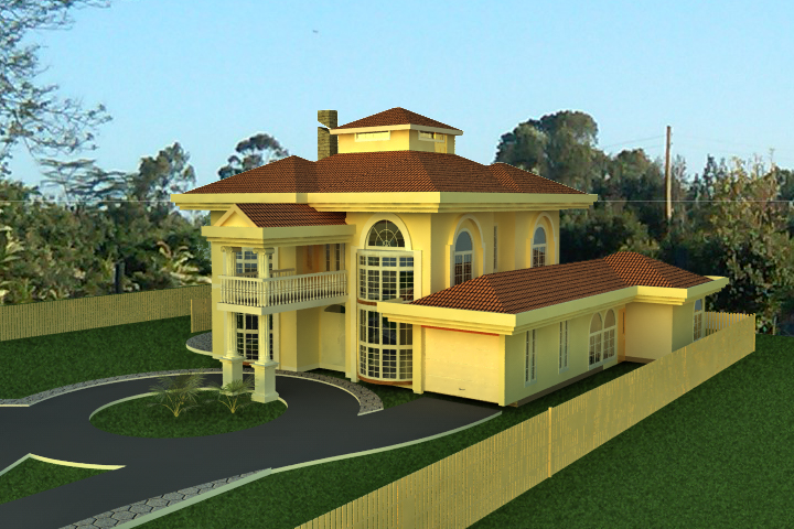 House plans for discerning clients the challenge for for Types of houses in kenya