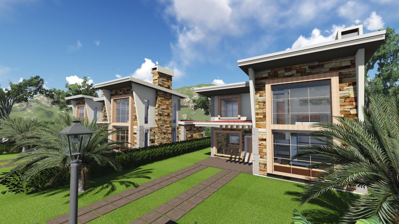 estate masterplanning by Kenyan architects