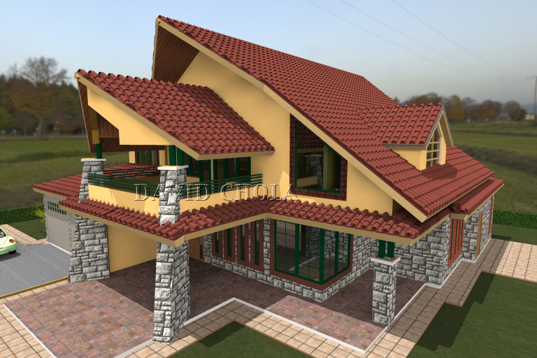 Kenani homes house plan adroit architecture for House pictures designs