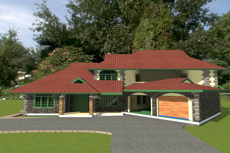 Country Quarter Acre House Plan Adroit Architecture